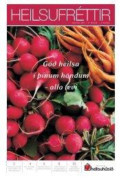 Heilsufréttir (pdf 2,13mb) - Heilsuhúsið