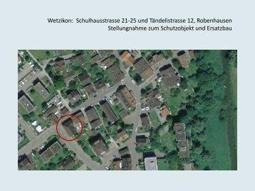 Wetzikon Bericht 3.3 MB - crarch-design.ch