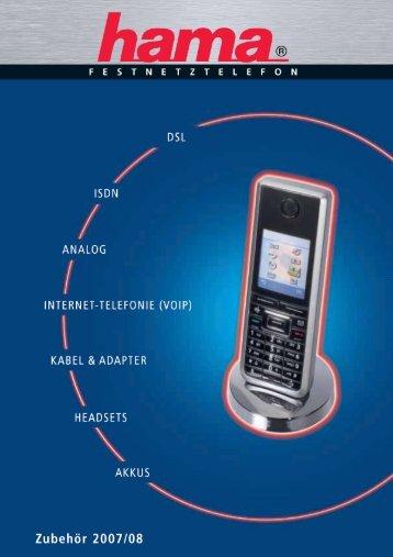 Festnetz-Telefonzubehör für lukrative Verbindungen!
