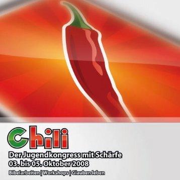 Den Chili Flyer herunterladen. - TotalMedial