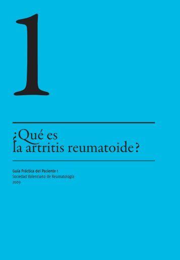 Descargar .pdf castellano - Sociedad Valenciana de Reumatología