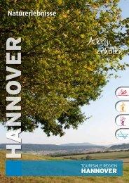 Aktiv erholen - Tourismus Region Hannover eV
