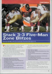 FO Stack 3-3 Five-Man Zone Blitzes - Fast and Furious Football