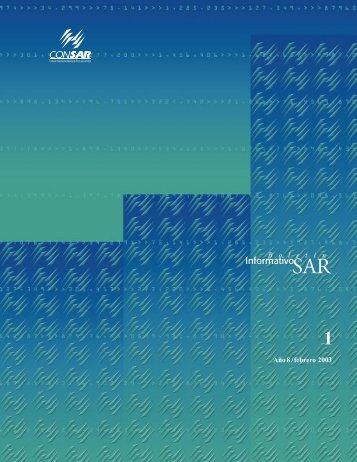 Boletín Informativo SAR No. 1 - Consar