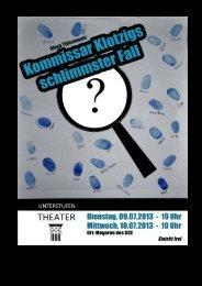 Programmheft - Kommissar Klotzig.pdf - GCE Bayreuth