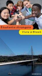 Vivre à Brest Étudiants étrangers - Brest Information Jeunesse