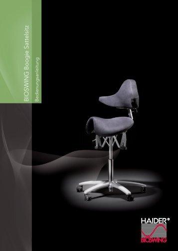 BIOSWING Boogie Sattelsitz - Dental Ergonomics