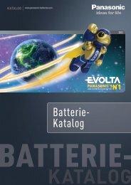 ceLL PoWer - Panasonic Batteries