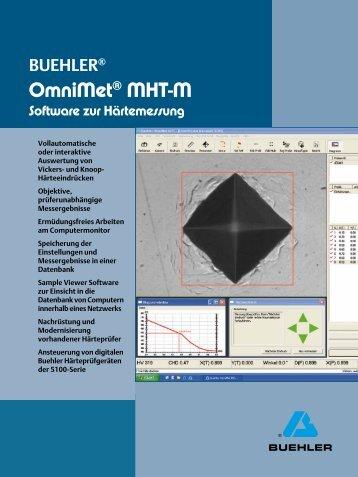OmniMet® MHT-M - Buehler GmbH
