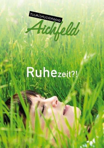 Ruhezeit?! - TOURISMUSVERBAND Aichfeld