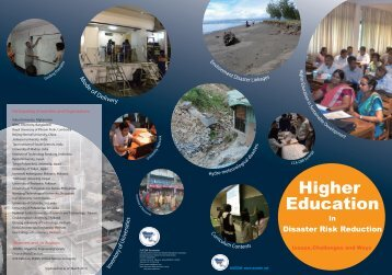 Higher Education in Disaster Risk Reduction - auedm