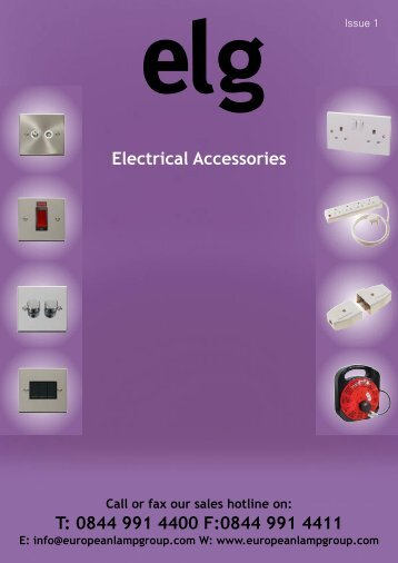 Electrical Accessories - European Lamp Group