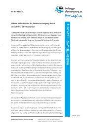 PRESSEM ITTEILU N G · 12.04.2013 - Zweckverband Bodensee ...