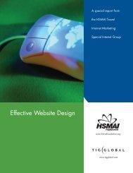 Effective Website Design - TourismTechnology.com
