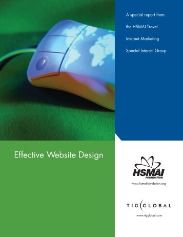 Effective Website Design - TourismTechnology.com
