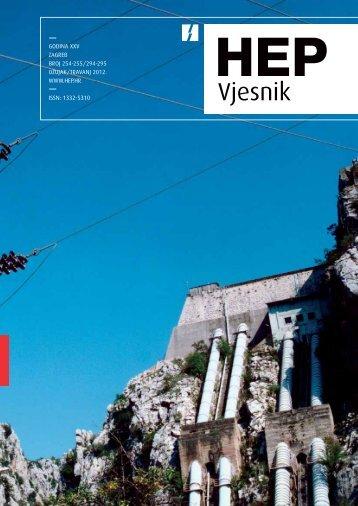 Broj 254/255 Ožujak/Travanj 2012. - HEP Grupa