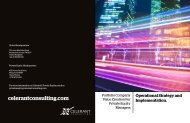 Private Equity - Celerant Consulting