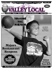 The Valley Local September 2013 - JeffPlace.com