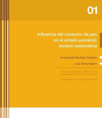 Influencia del consumo de pan en el estado ponderal ... - Uibaker.org