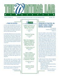37.5-6 - The Writing Lab Newsletter