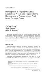 Development of Fingerprints using Electrolysis - International ...