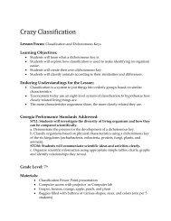 Crazy Classification - Georgia Aquarium