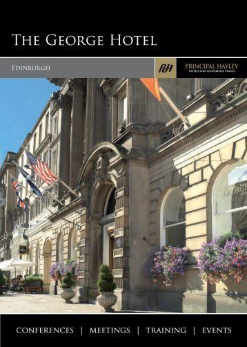 The George Hotel Conference Brochure - Principal Hayley