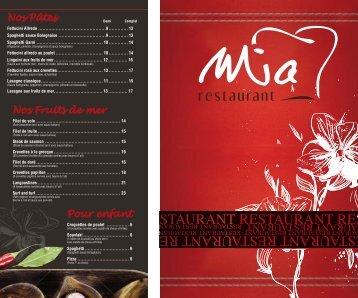 Rest. Mia Menu int. final - Weblocal.ca