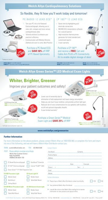 GP Mailer RRP.indd - Welch Allyn
