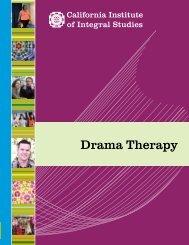 Drama Therapy - California Institute of Integral Studies