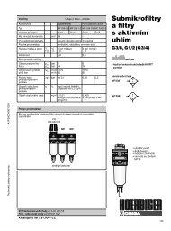 Submikrofiltry a filtry s aktivním uhlím