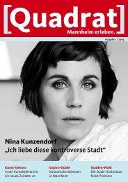 Nina Kunzendorf - Tourist Information Mannheim