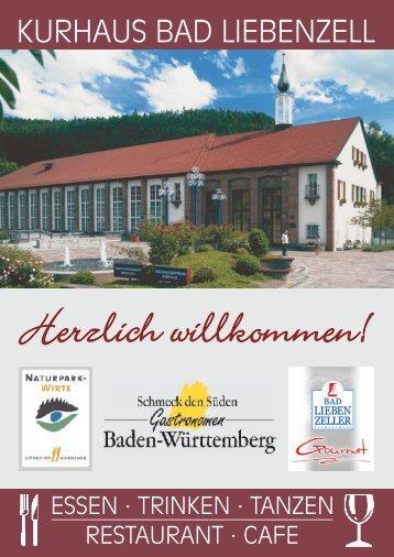 Weinkarte - Bad Liebenzell