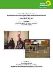 Reisebericht von Astrid Rothe-Beinlich - Aktion 302