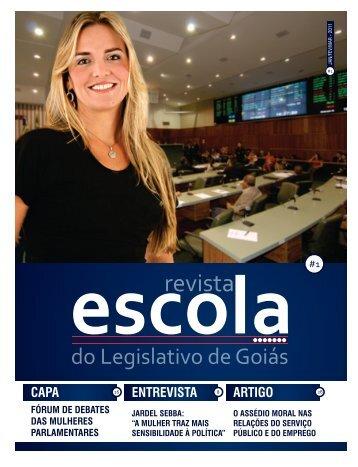 Revista Escola do Legislativo - Edição 01 - Assembleia Legislativa ...