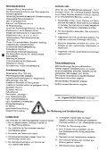 Betriebsanleitung und Ersatzteilliste - Agromix - Seite 7