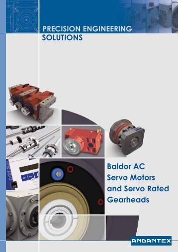 AC Servomotors - Andantex UK