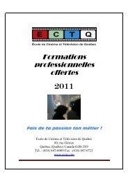 formation offertes 2011 - Weblocal.ca