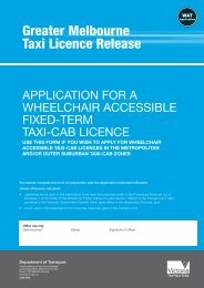 Accessible License Application - Taxi Library