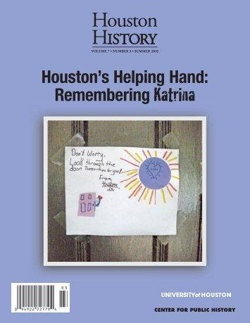 Download PDF - Houston History Magazine