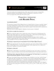 Preguntas y respuestas con Ricardo Preve - Festival del Cinema ...