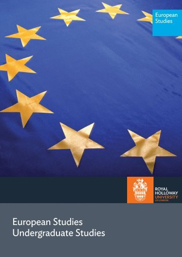 European Studies - Royal Holloway, University of London