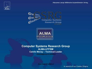 Computer Systems Research Group - 6th ACS Workshop at UTFSM ...