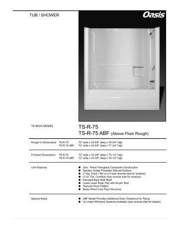 TS-R-75 - Oasis Bath