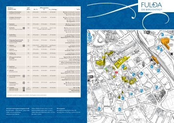 2012_FD Parkhausplan.indd - Tourismus Fulda