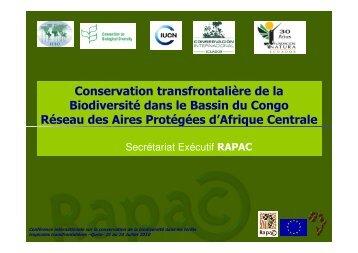 Vision RAPAC - IUCN Portals