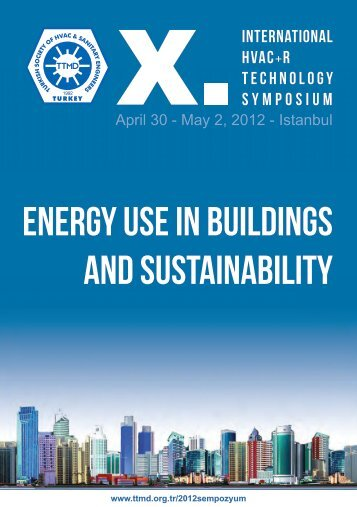 ENERGY USE IN BUILDINGS AND SUSTAINABILITY - TTMD