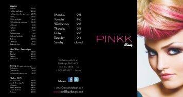 Morningside - Pinkk Hair Design