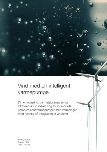 Vind med en intelligent varmepumpe - Aalborg Universitet
