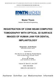 registration of cone beam computed tomography with optical 3d - WBS